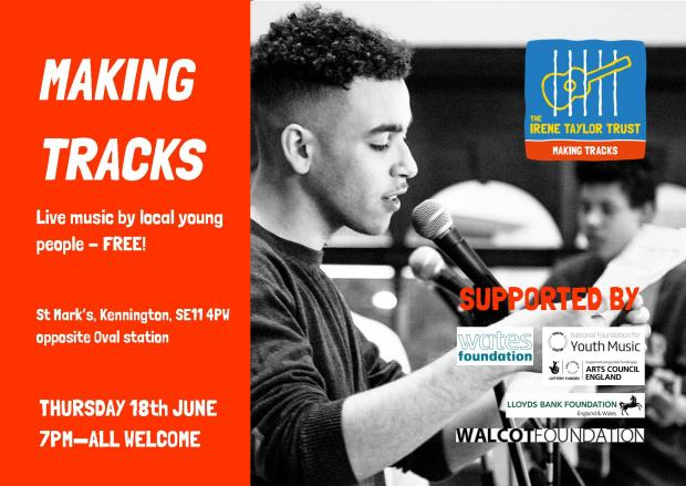 Making Tracks gig June 2015